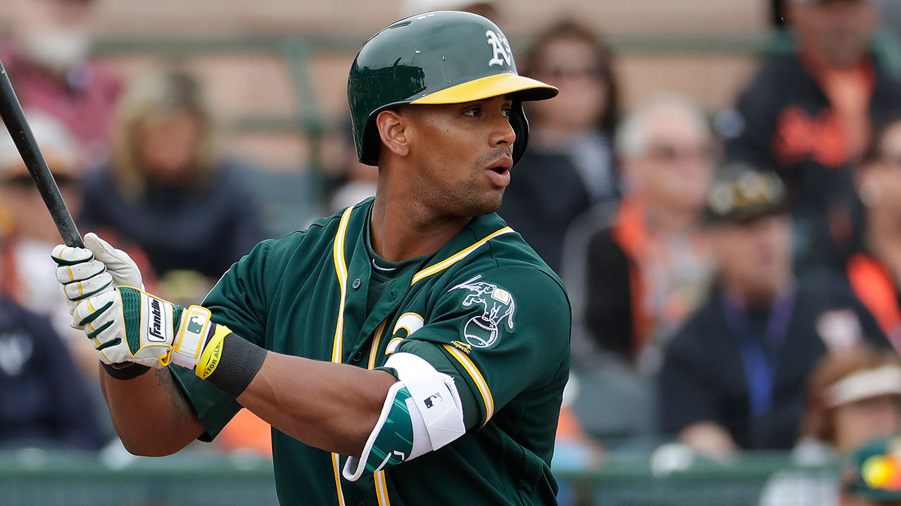 Davis drives in two; Manaea tosses five innings