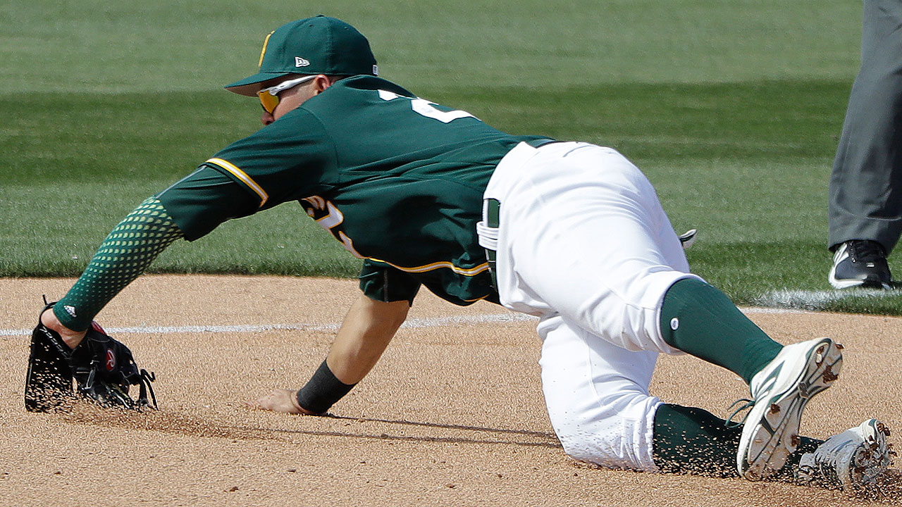 Prospects Nunez, Pinder homer for A's