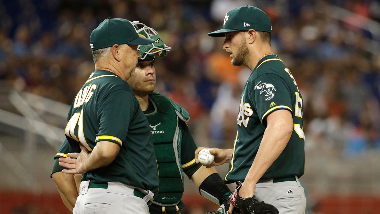 Athletics dismiss pitching coach Young